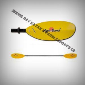 Aquabound Manta Ray Glass 2pce Paddle 220cm