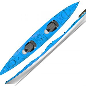 Delta 17.5T Traverse Double Sea Kayak