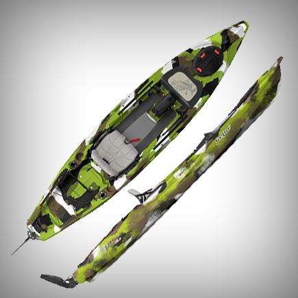 Feelfree Kayaks Lure 13.5 Fishing Kayak