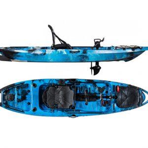 Surge Fusion 10 Pedal-Drive Fishing Kayak