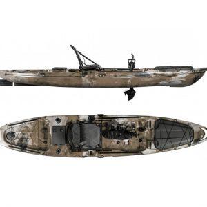 Surge Fusion 13 Pedal-Drive Fishing Kayak