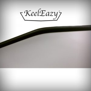 KeelEazy Keel Protection Strip Black per mtr