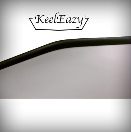 KeelEazy Keel Protection Strip Black per mtr