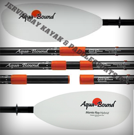 Aquabound Manta Ray Hybrid 2pc Paddle 220cm