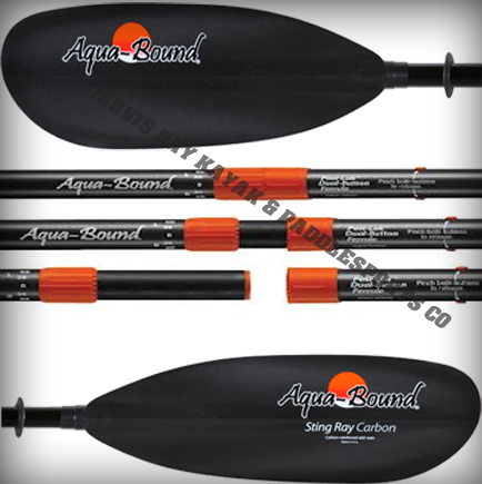 Aquabound Sting Ray Carbon 2pce Paddle 215cm