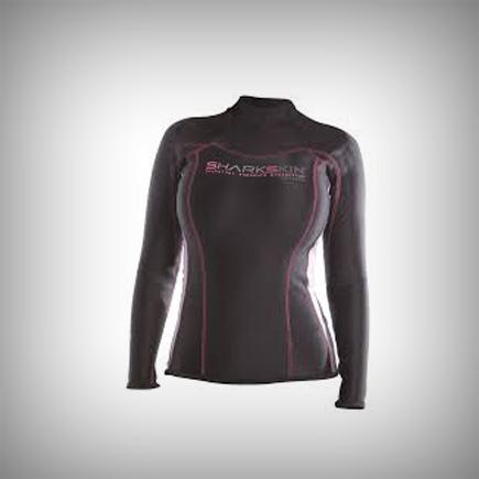 Sharkskin - Chillproof Womens Long Sleeve Size 14