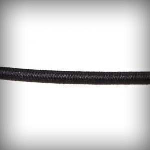 Shock Cord 3mm Black 1mtr