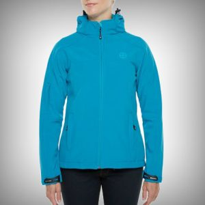 Vigilante Soft Shell Jacket - Womens Aqua
