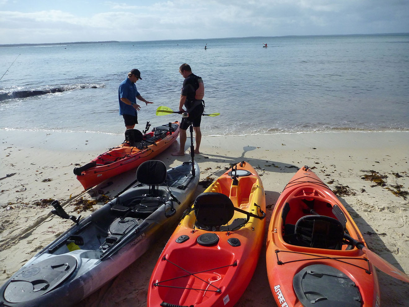 JBK Fishing Kayak Demo Day