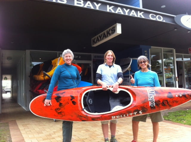NZ Surf Kayakers Visit